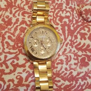Fossil Ladies Watch with Crystals